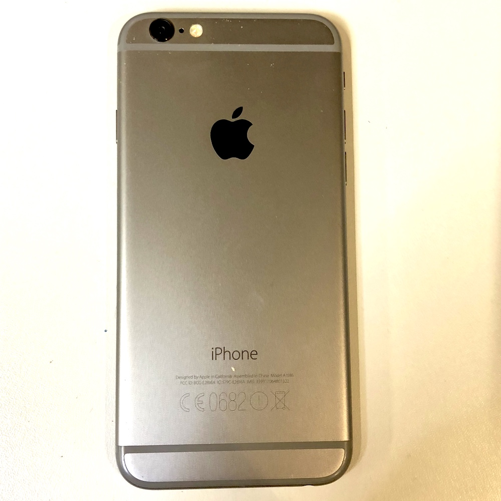 apple iphone 6 16gb space grey unlocked smartphone good condition grade b 888462062114 ebay. Black Bedroom Furniture Sets. Home Design Ideas