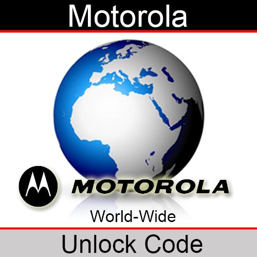Motorola Factory Unlock Code (Old Database)