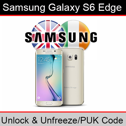 Details about Samsung Galaxy S6 Edge Unlock & PUK Code (ALL UK/Ireland  Networks Supported)